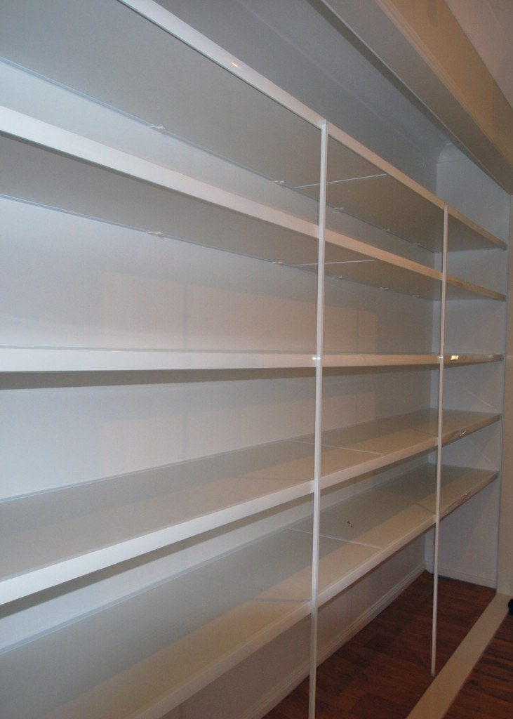 hospitality to shelves shelf southern installing sliding in a of how pantry