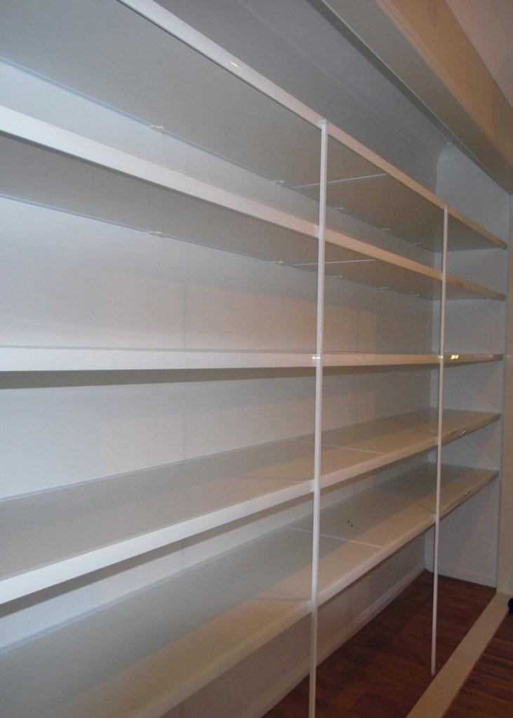Kitchen Pantry Rapi Mount Melamine Shelving Oz Wardrobes
